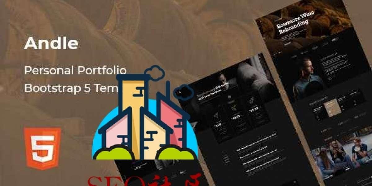 Andle v1.0 - 个人作品类Bootstrap 5 模板